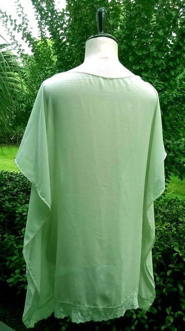 Lisa Nieves Chiffon Casual Out Summer Tunic