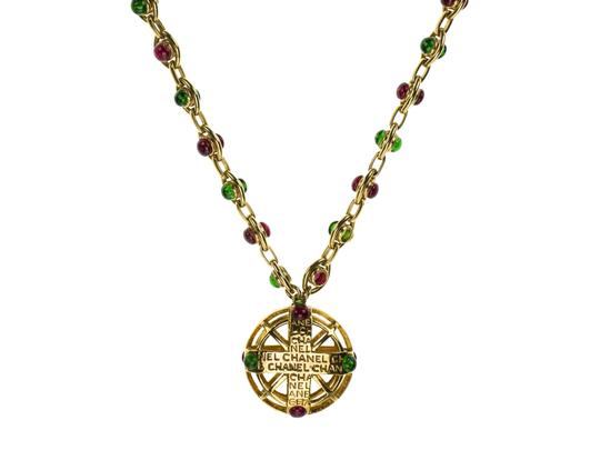 Chanel Chanel Vintage Gold Gripoix Necklace