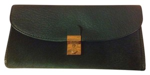 Tory Burch Dark Green Tory Burch Wallet