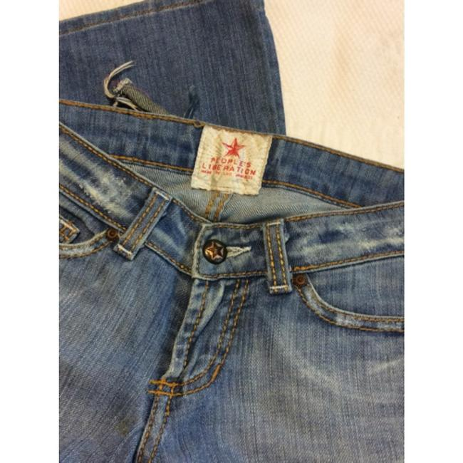 People's Liberation Boot Cut Jeans-Light Wash