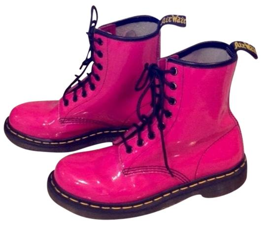 Preload https://item5.tradesy.com/images/dr-martens-hot-pink-patent-leather-bootsbooties-size-us-6-regular-m-b-4559674-0-0.jpg?width=440&height=440