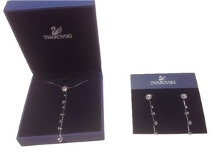 Swarovski Crystal Earrings and Necklace Set