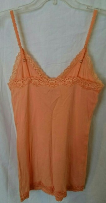Hollister Lace Built-in Bra Top Orange
