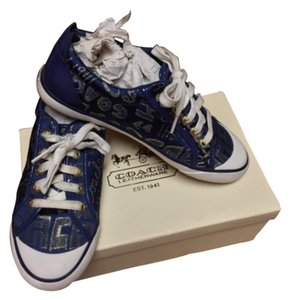 Coach Navy Blue Athletic
