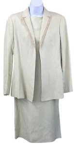 Valentino Missv Silk Linen Suit Dress