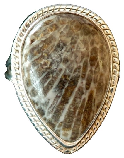 Preload https://item1.tradesy.com/images/unknown-natural-black-stingray-coral-from-alaska-925-sterling-silver-ring-size-7-4560655-0-0.jpg?width=440&height=440