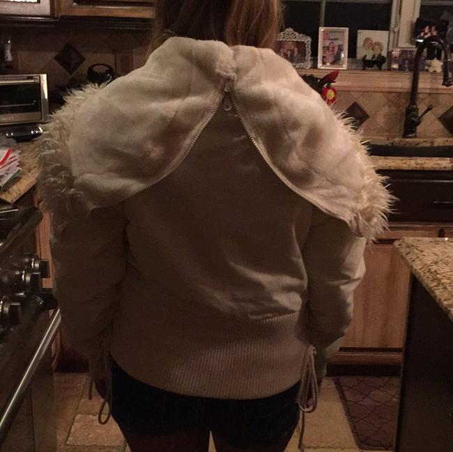 Guess White Jacket