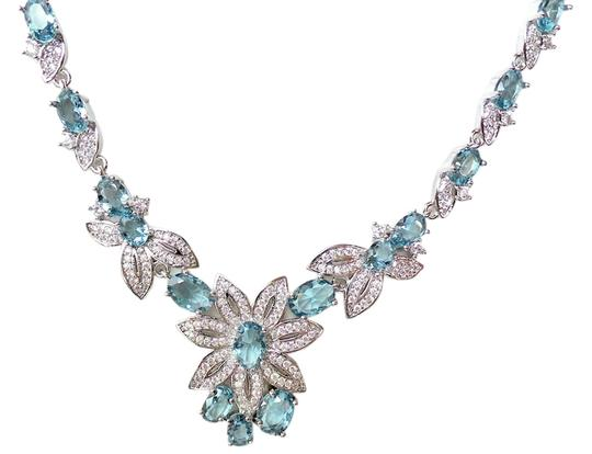 Preload https://item1.tradesy.com/images/unknown-london-blue-topaz-white-topaz-925-sterling-silver-necklace-4560835-0-0.jpg?width=440&height=440