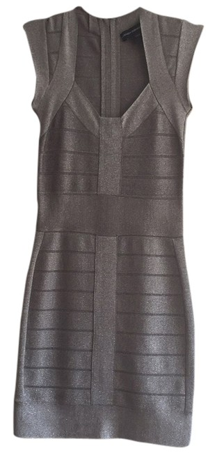 Preload https://item5.tradesy.com/images/french-connection-dress-silver-4561039-0-0.jpg?width=400&height=650