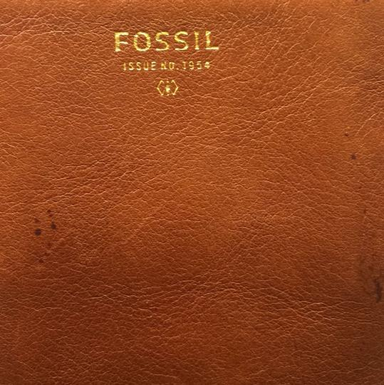 Fossil Brown Clutch