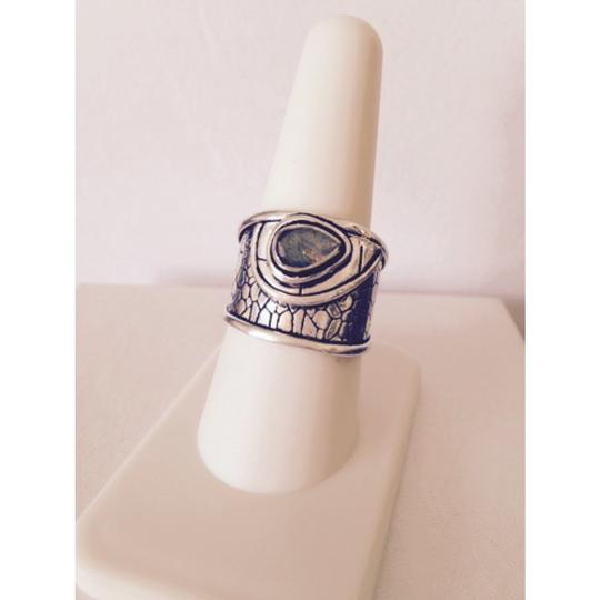 Other Embellished by Leecia Labradorite Ring, Size 8