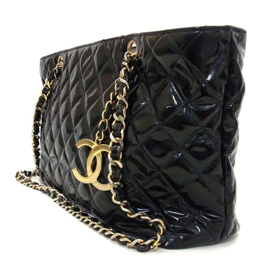 Chanel Quilted Leather Tote in Back