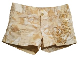 Express Mini/Short Shorts Yellow, Gold