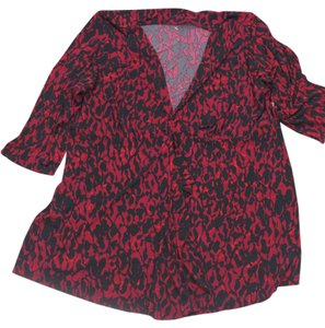 George Size 1x Size 16w 16w Xg Spandex Polyester Sale Women Sale Top red and black