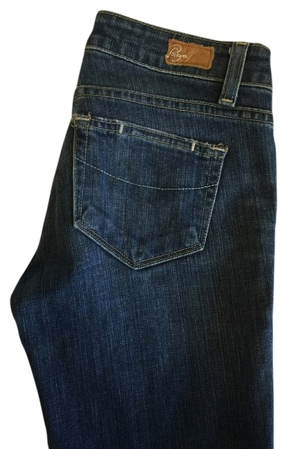 Item - Blue Coated Melrose Straight Leg Jeans Size 24 (0, XS)