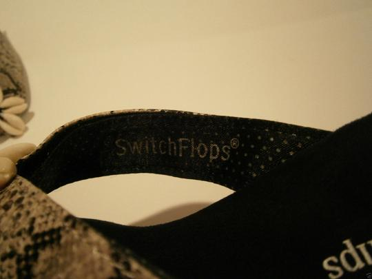 Lindsay Phillips Brenna Switchflops Straps Extra Straps Size 10 Wedge Thong Sandals