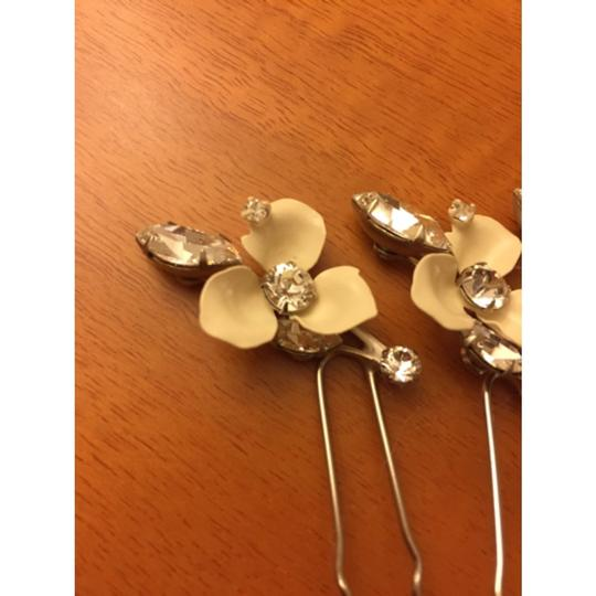 Swarovski Crystal and Ivory Hair Accessories