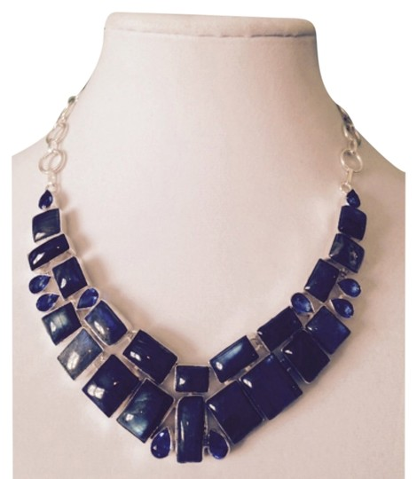 My Closet- Embellished by Leecia Embellished by Leecia Labradorite Statement Necklace