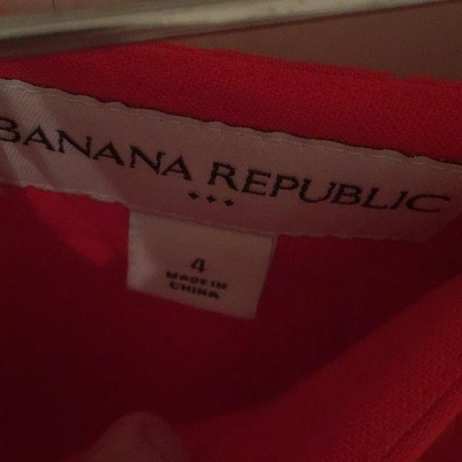 Banana Republic Mini Skirt Orange