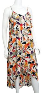 Vanilla Floral Maxi Dress by BCBG Paris Ruffle
