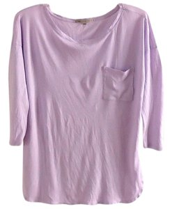 Gap Cotton T Shirt lavender