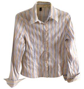 Alcerino Button Down Shirt striped