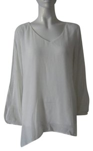 Brand New Chiffon Top White