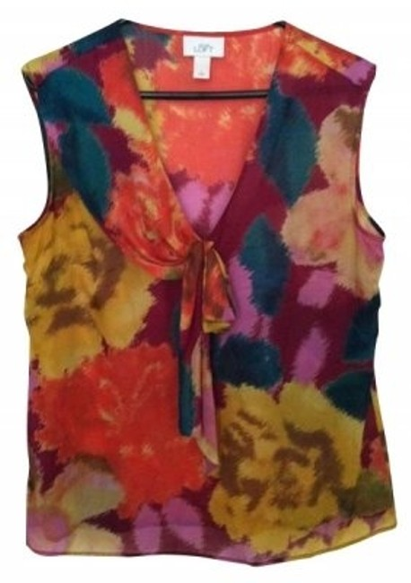 Preload https://item4.tradesy.com/images/ann-taylor-loft-multicolor-blouse-size-12-l-4573-0-0.jpg?width=400&height=650