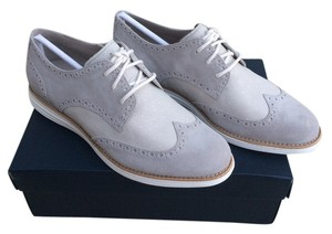 Cole Haan Nike Lunarlon Suede Leather Brogue Oxford Grey/Cream Athletic