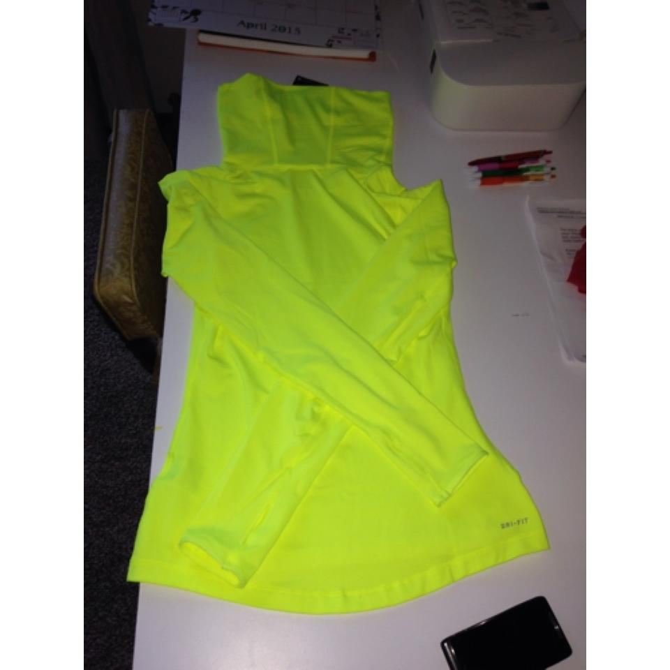 Nike Neon Yellow Style Number: 620415 Color Code: 702 Long Sleeve ...