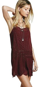 Free People short dress Pomegranate on Tradesy
