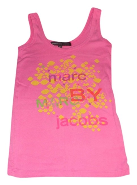 Marc by Marc Jacobs Summer Graphic Top PINK