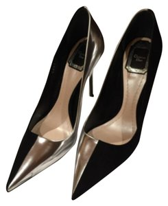 Dior Black/ Silver Pumps