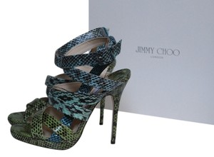 Jimmy Choo Dido Multy Color Multi-Color Sandals