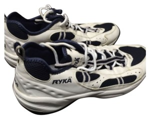 Ryka Water Shoes Size 9 BLUE AND WHITE Water Aerobic Athletic