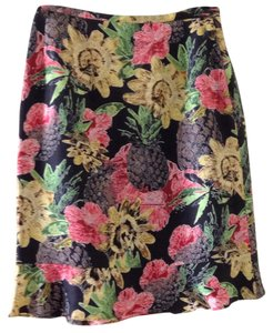 Harvé Benard Skirt Black / multi