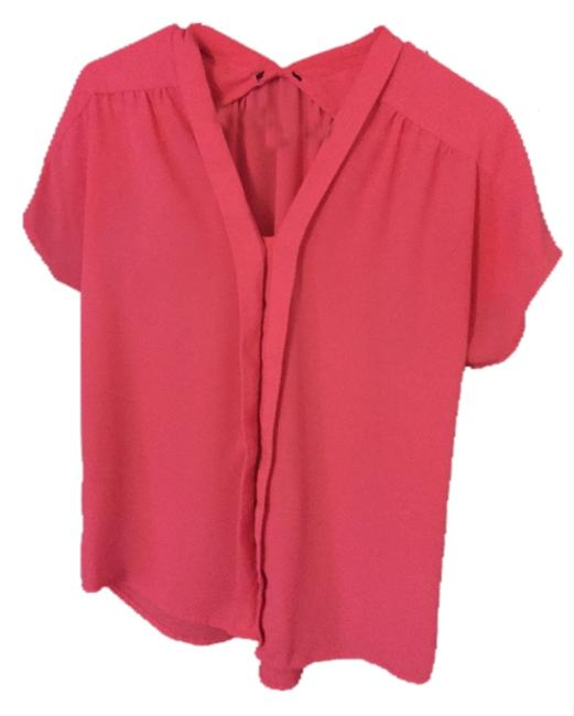 Preload https://item4.tradesy.com/images/express-bright-bright-top-coral-pink-4581163-0-0.jpg?width=400&height=650