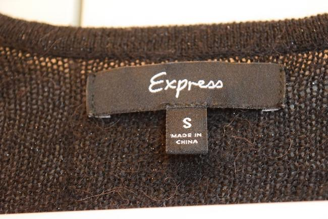 Express Sparkly Sparkle Crop Cropped Cropped Gem Gem Buttons Buttons Formal Night Out 3/4 Sleeve Cardigan