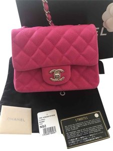 Chanel Classic Mini Caviar Cross Body Bag