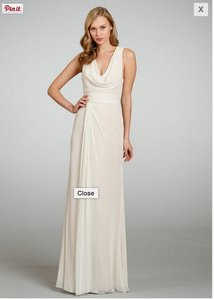 Jim Hjelm Ivory Jim Hjelm Dress