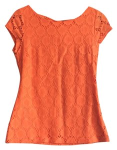 Banana Republic T Shirt Orange