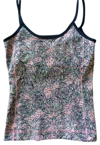 Lilly Pulitzer Top Blue/Multi Pink, White, Green