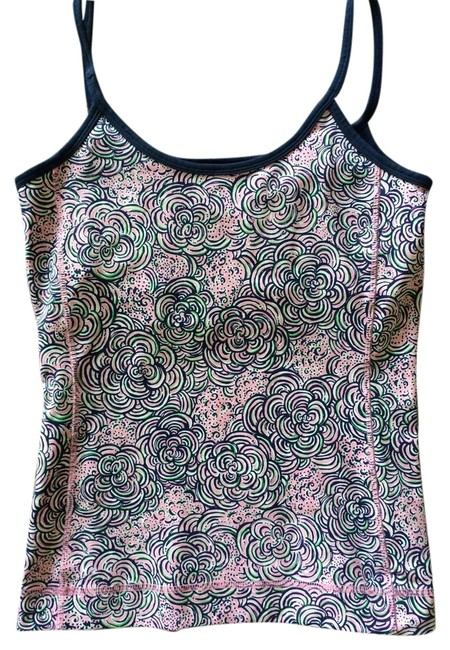 Preload https://item2.tradesy.com/images/lilly-pulitzer-bluemulti-pink-white-green-tank-topcami-size-4-s-4583221-0-0.jpg?width=400&height=650