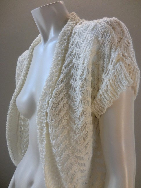 Isela Open Knit Lacey Stretchy 1878 Sweater