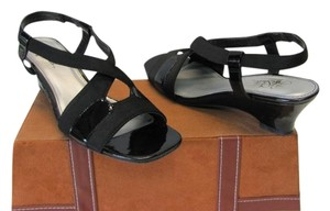 LifeStride New Excellent Condition Cushioned Footbed Size 9.00 Black Sandals