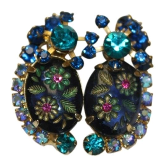 Preload https://item1.tradesy.com/images/juliana-collezione-juliana-vintage-dimensional-blue-teal-rhinestone-earrings-4583455-0-0.jpg?width=440&height=440