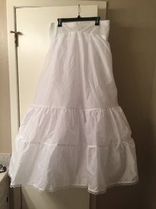 David's Bridal White Dress Slip For A-line 9603w Size 18w
