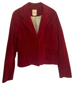 Fossil Brick Red Blazer