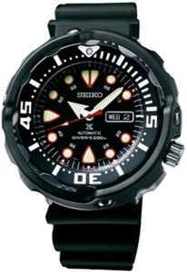 Seiko Seiko Men's Black Analog Watch SRP655