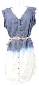 Jessica Simpson short dress Blue Ombre Cotton on Tradesy